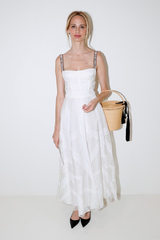 Lauren Santo Domingo, at Christian Dior.