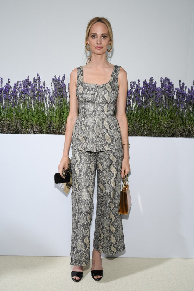 Lauren Santo Domingo, at Giambattista Valli.
