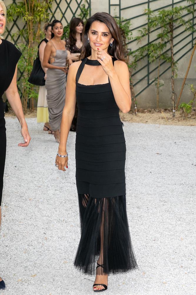 Penelope Cruz, at Atelier Swarovski.