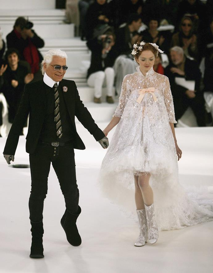 Chanel Haute Couture spring/summer 2006.