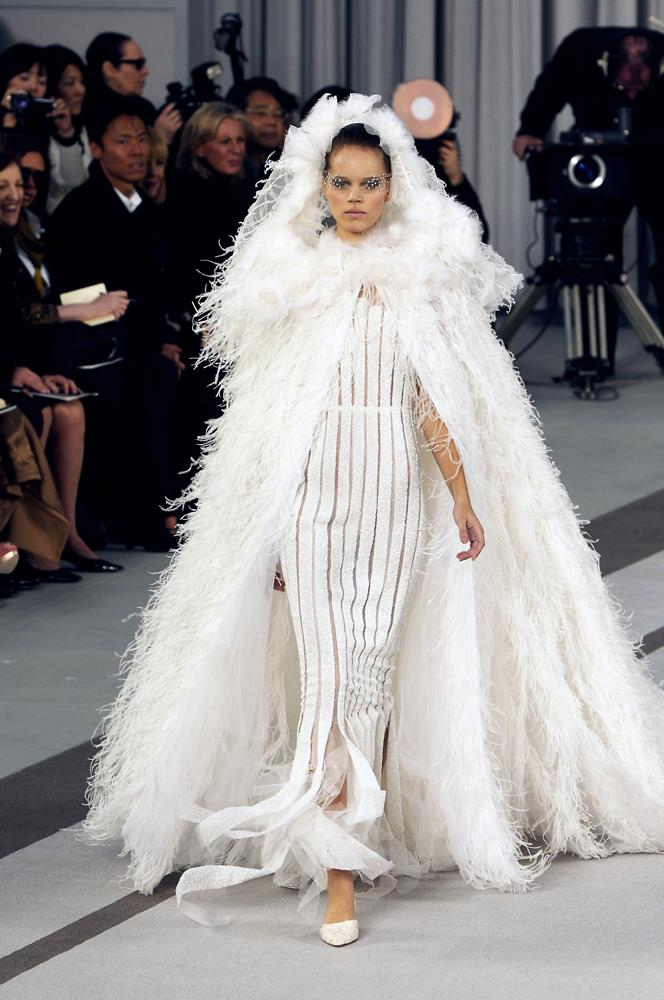 Chanel Haute Couture autumn/winter 2007/08.
