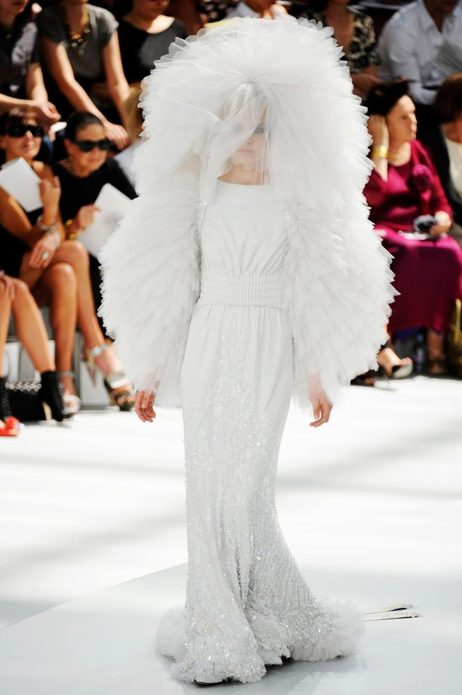 Chanel Haute Couture autumn/winter 2008.