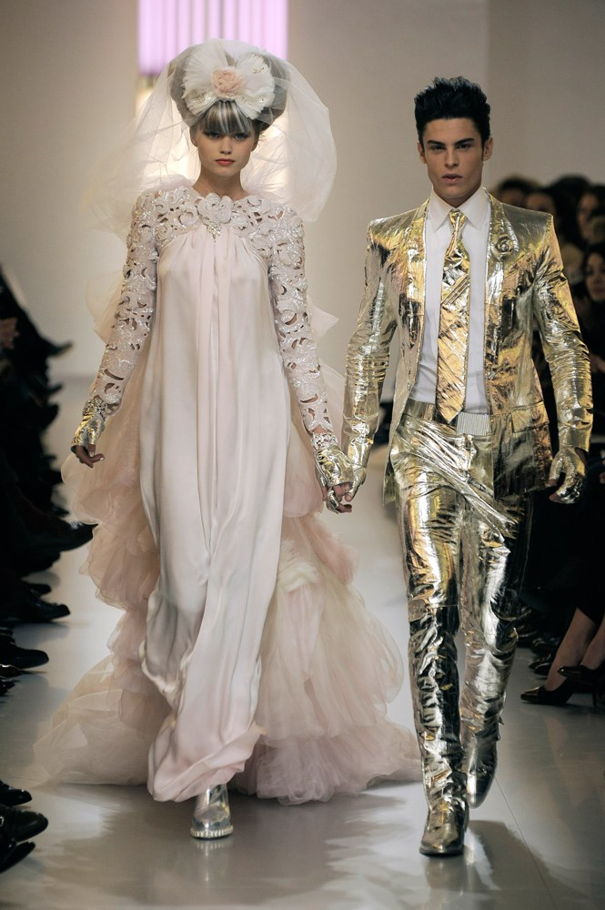 Chanel Haute Couture spring/summer 2010.