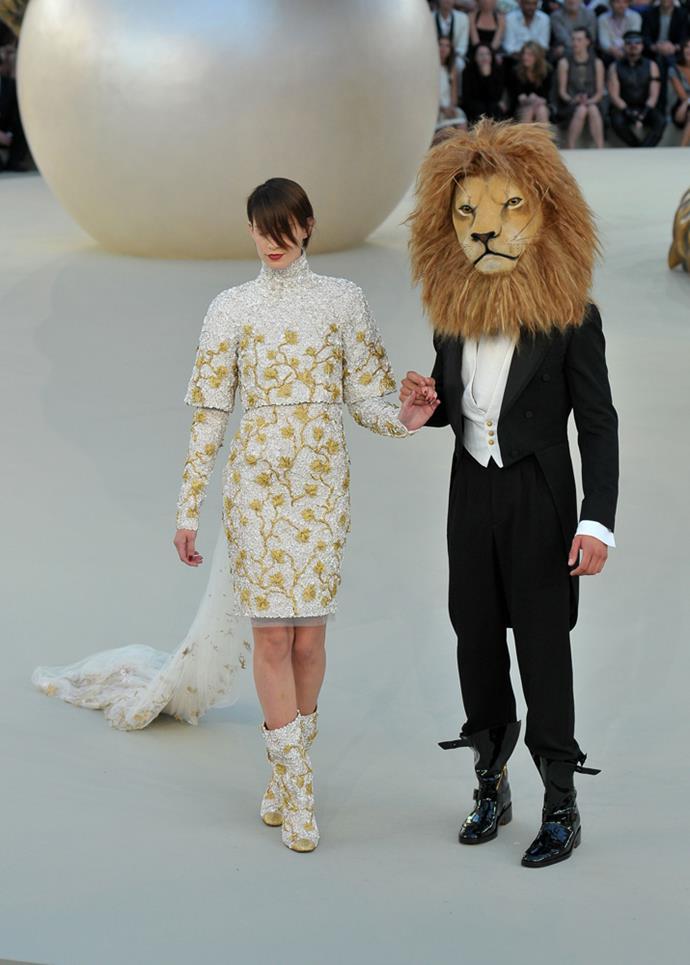 Chanel Haute Couture autumn/winter 2011.