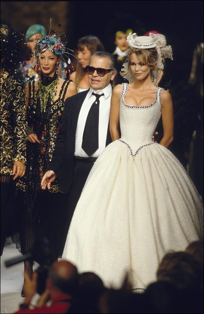 Chanel Haute Couture autumn/winter 1992/93.