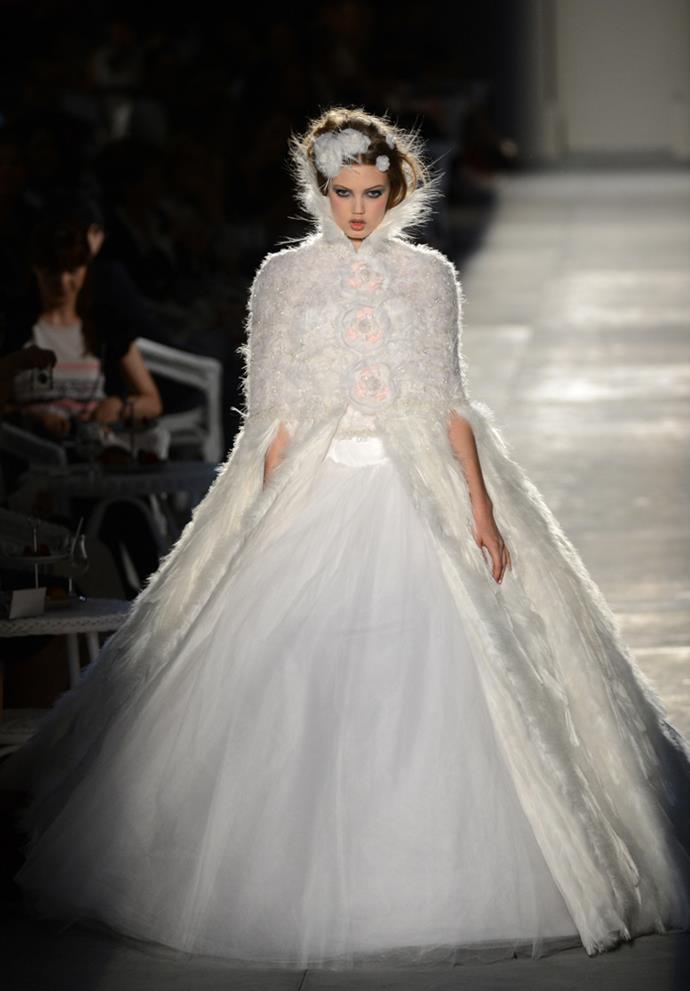 Chanel Haute Couture autumn/winter 2012/13.