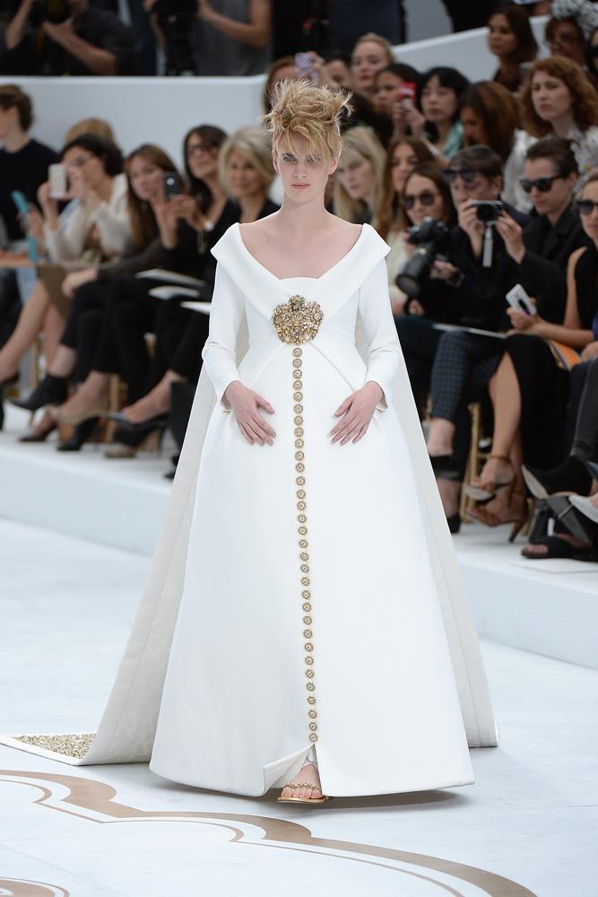 Chanel Haute Couture autumn/winter 2014.