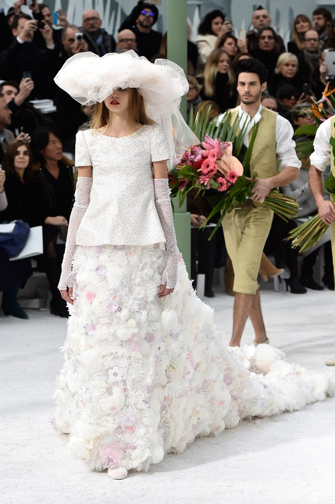 Chanel Haute Couture spring/summer 2015.