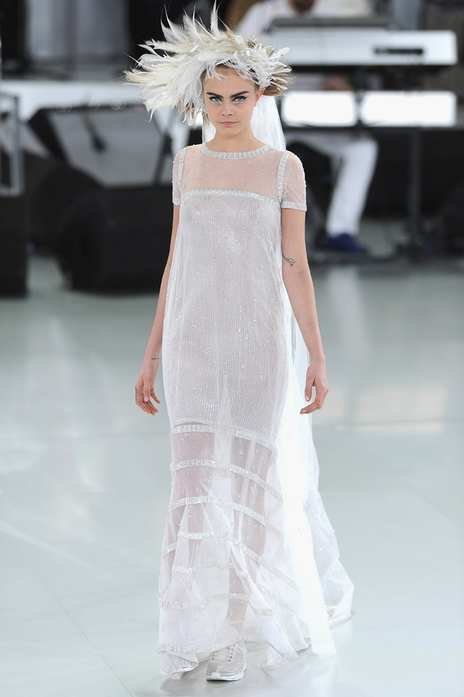 Chanel Haute Couture spring/summer 2014.