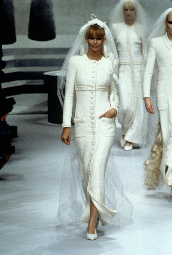 Chanel Haute Couture autumn/winter 1995.