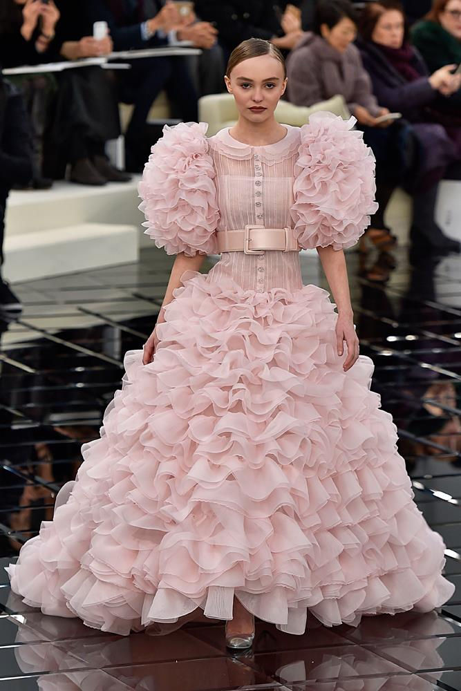 Chanel Haute Couture spring/summer 2017.