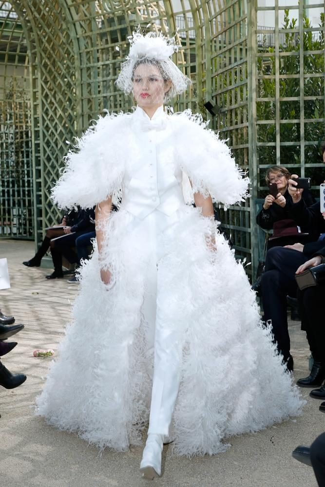 Chanel Haute Couture spring/summer 2018.