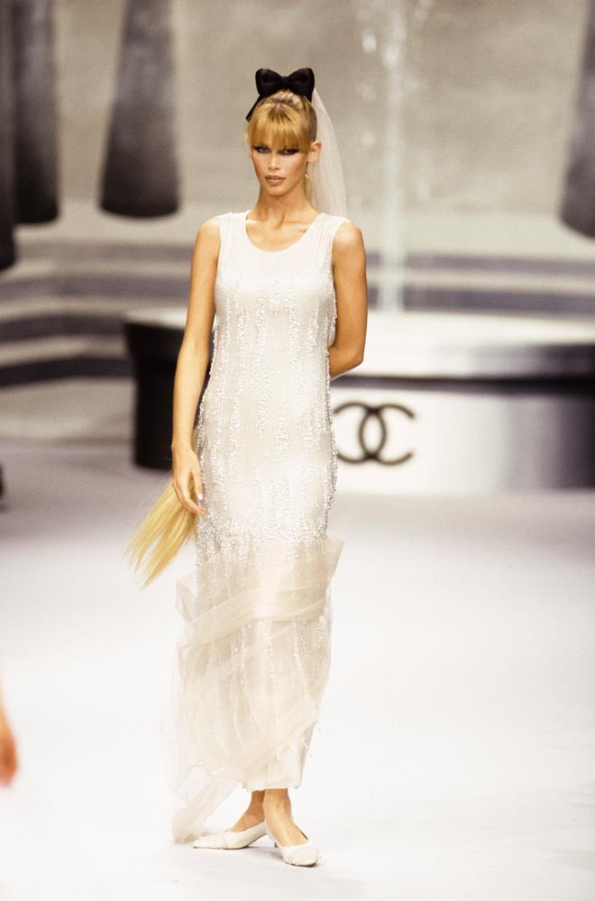 Chanel Haute Couture autumn/winter 1995/96.