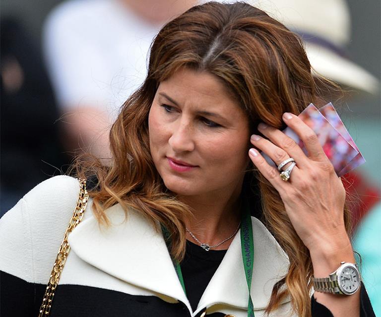 Mirka Federer S Engagement Ring Wows Wimbledon Fans Harper S