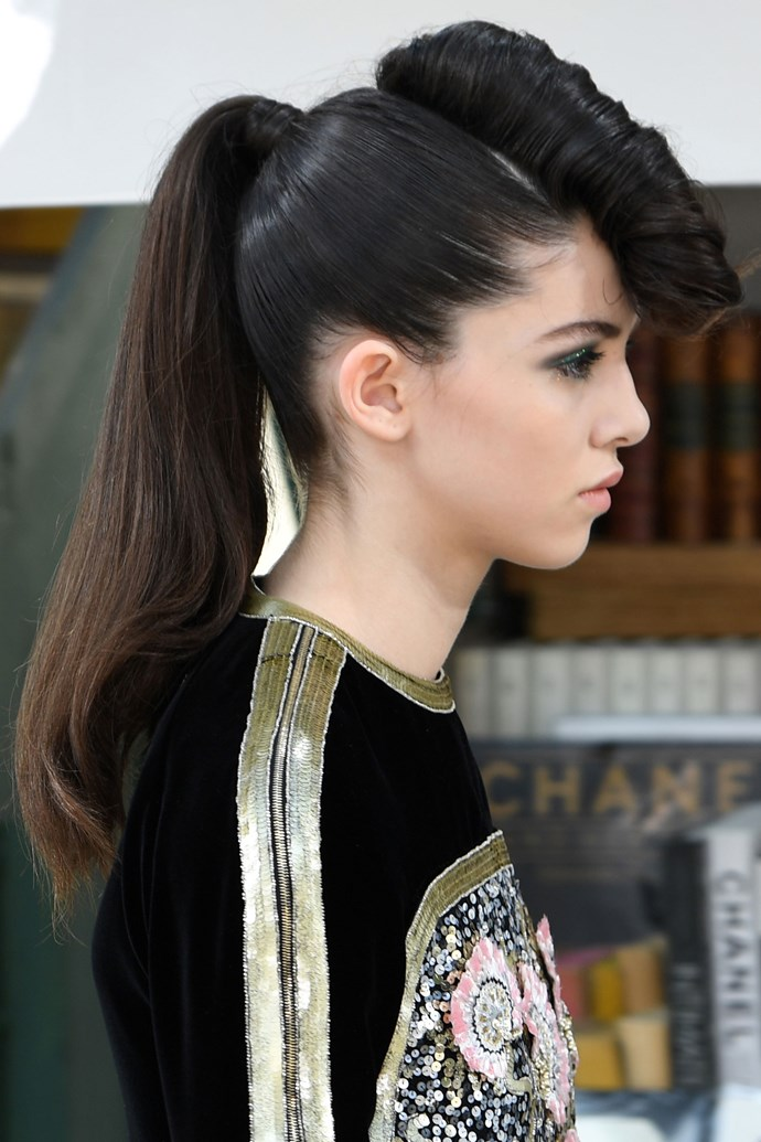 **CHANEL HAUTE COUTURE: ROCKABILLY MOHAWKS**