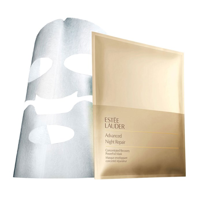 "**Estée Lauder Advanced Night Repair Powerfoil Mask, $120 (pack of 4) at [Myer](https://www.myer.com.au/shop/mystore/estee-lauder-este-201-lauder-advanced-night-repair-concentrated-recovery-powerfoil-mask|target=""_blank""