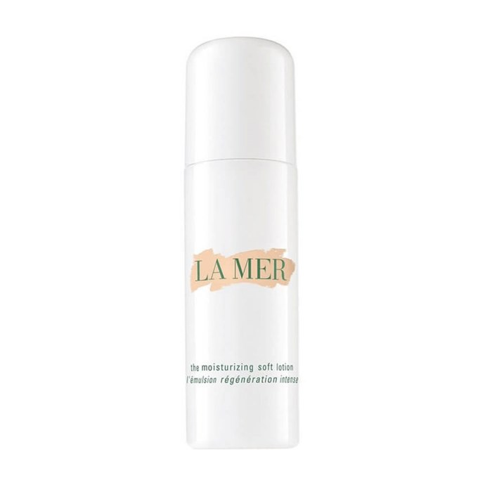 "**La Mer The Moisturising Soft Lotion, $370 at [MECCA](https://www.mecca.com.au/la-mer/the-moisturising-soft-lotion/I-024981.html?gclid=Cj0KCQjw-JvaBRDGARIsAFjqkkrswomkPsWY1hM-NRQjbPQblh5KLXw5H2Q-qTaMhs-R5SpjXwkiQ4waAjolEALw_wcB|target=""_blank""
