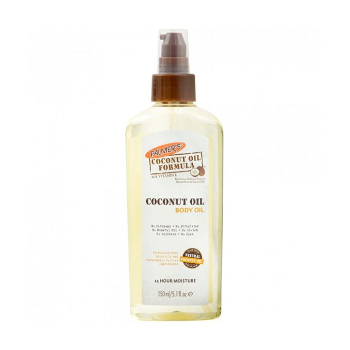 """**Palmer's Coconut Oil Body Oil, $10 at [Priceline](https://www.priceline.com.au/palmer-s-coconut-oil-formula-body-oil-150-ml