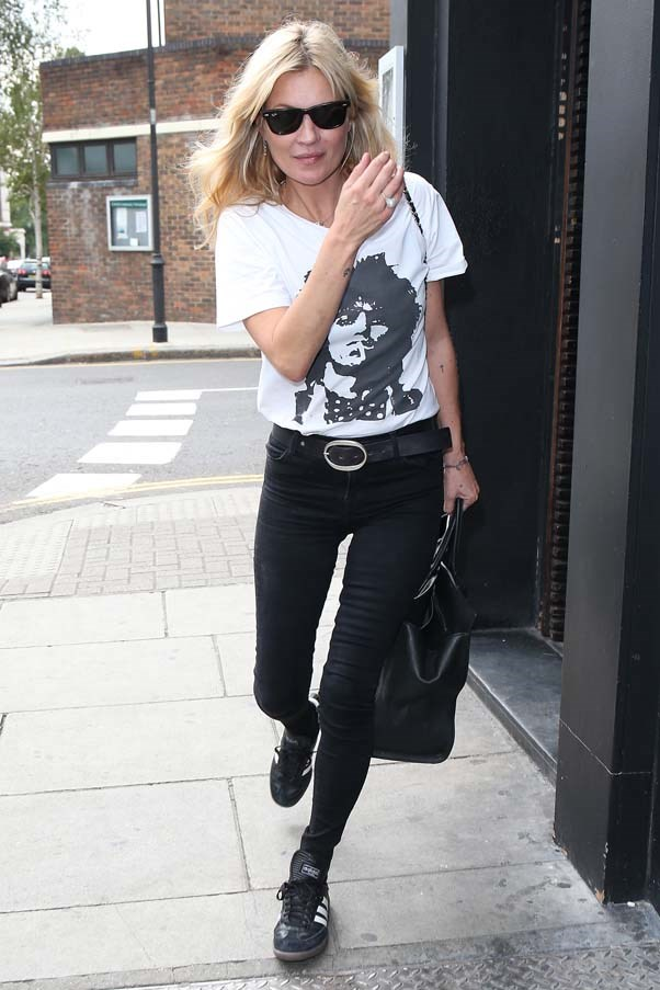 Leaving E&O Restaurant in Notting Hill, September 2015.