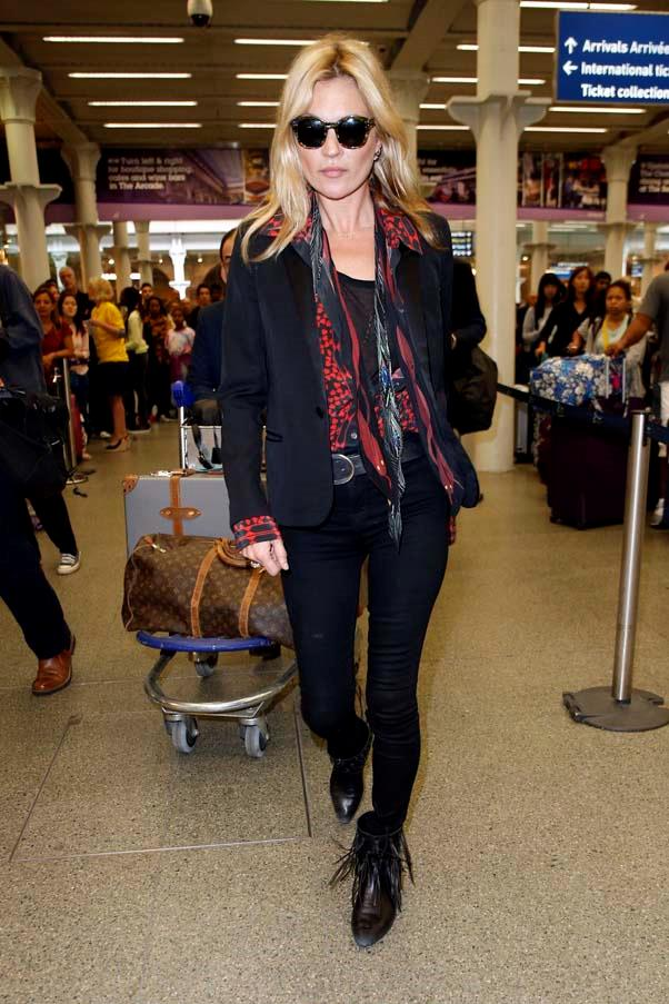 At St. Pancras station in London, June 2015.
