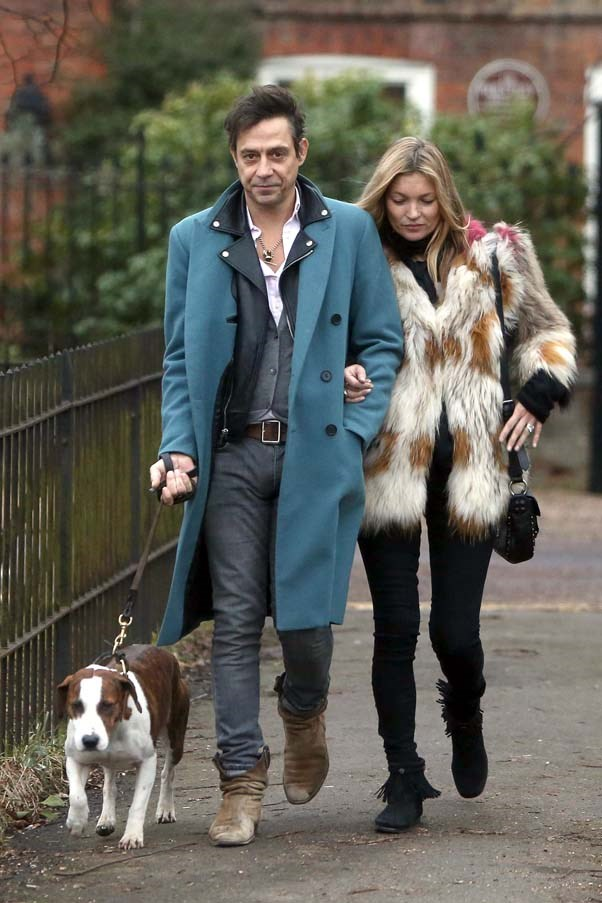 With ex-husband Jamie Hince in London, February 2015.