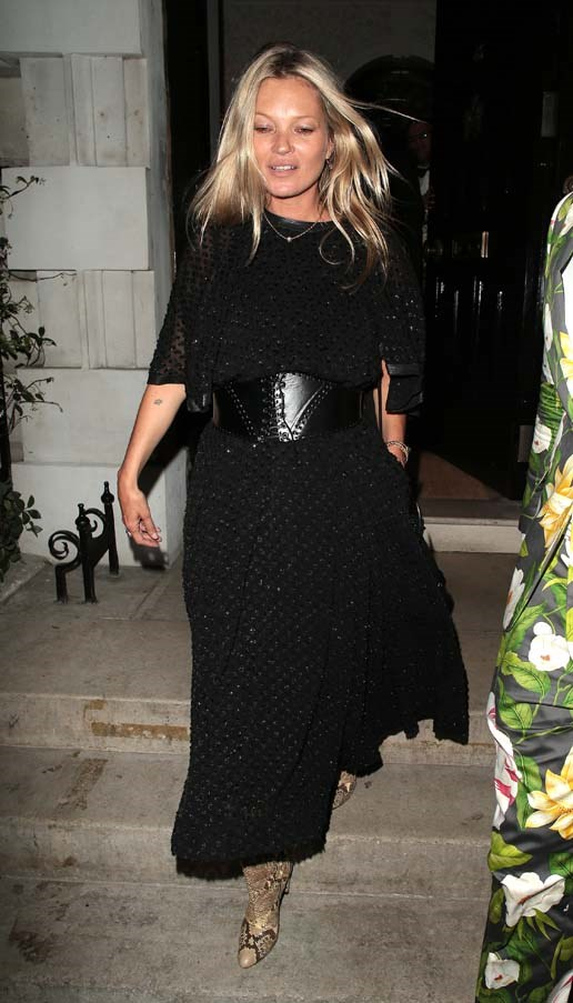 Leaving Annabel's in London, July 2018.