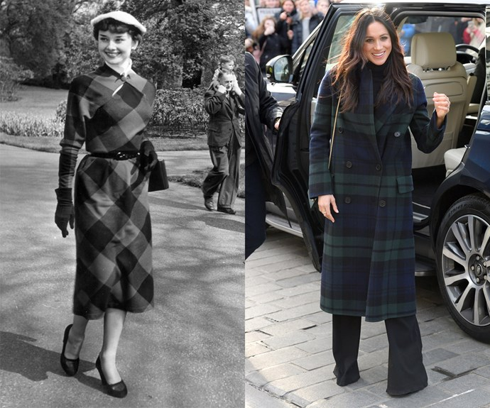 Then there's their mutual love of head-to-toe tartan.
