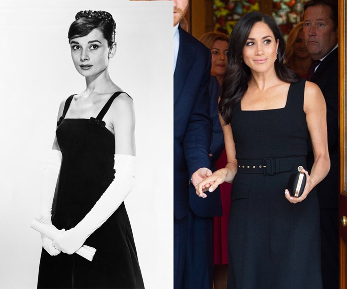 Then there's their mutual love of the classic little black dress.