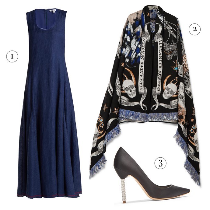 "1, Dress by Elizabeth and James, $985 at [MATCHESFASHION.COM](https://www.matchesfashion.com/au/products/Elizabeth-And-James-Lenox-sleeveless-linen-blend-dress-1217093|target=""_blank""