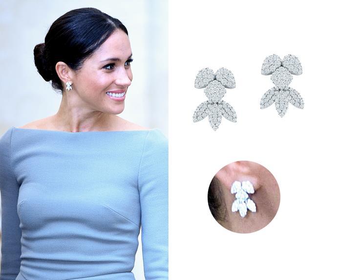 """'Snowstorm' diamond earrings, $12,270 at [Birks](https://www.maisonbirks.com/en/birks-snowflake-snowstorm-diamond-earrings-in-white-gold target=""""_blank"""" rel=""""nofollow"""")."""