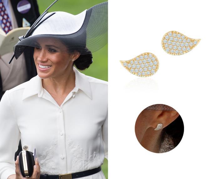 """Pétale earrings, $1,528 at [Birks](https://www.maisonbirks.com/en/birks-petale-large-yellow-gold-and-diamond-stud-earrings target=""""_blank"""" rel=""""nofollow"""")."""