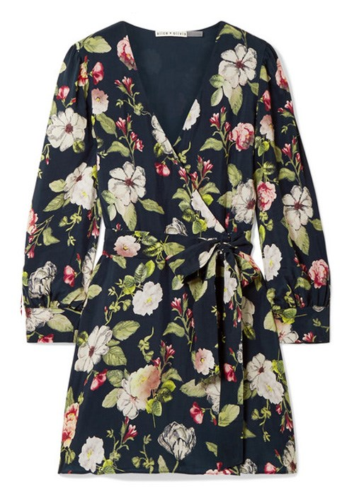 "Hannah wrap-effect floral-print washed-satin mini dress, $618.75, Alice + Olivia at [Net-A-Porter](https://www.net-a-porter.com/au/en/product/1057273/alice___olivia/hannah-wrap-effect-floral-print-washed-satin-mini-dress|target=""_blank"")"