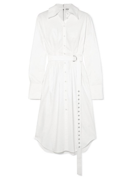 "Watts cotton Oxford midi dress, $722.17, Tibi at [Net-A-Porter](https://www.net-a-porter.com/au/en/product/1059244/tibi/watts-cotton-oxford-midi-dress|target=""_blank"")"