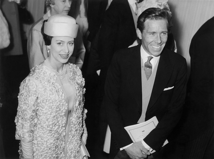 Princess Margaret and Antony Armstrong-Jones.