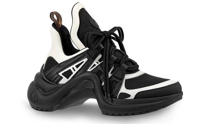 "Louis Vuitton Archlights, $1,460 at [Louis Vuitton](https://au.louisvuitton.com/eng-au/products/lv-archlight-sneaker-nvprod810020v|target=""_blank""|rel=""nofollow"")"