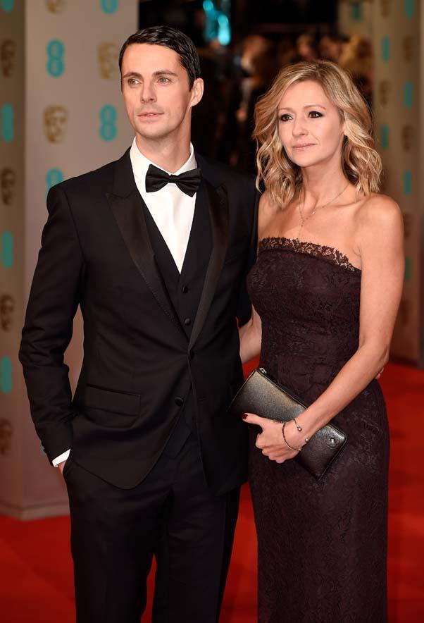 Matthew Goode and Sophie Dymoke in 2015.