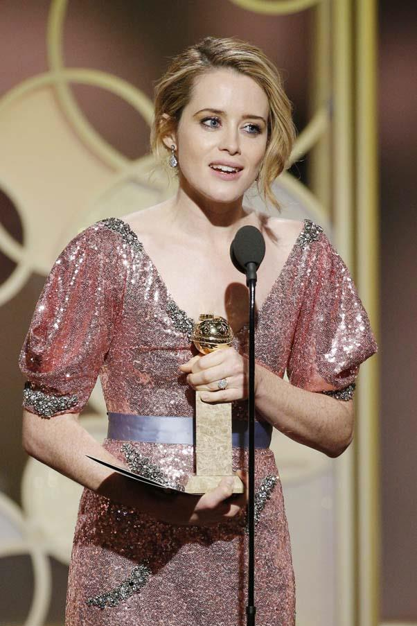 """**Claire Foy**, who plays Queen Elizabeth II in seasons one and two of *The Crown*, married fellow actor Stephen Campbell Moore in 2014, who she met while filming *Season of the Witch* in 2011. Foy gave birth to their daughter, Ivy Rose, in March 2015, later revealing she auditioned for *The Crown* while heavily pregnant. In January this year it was revaled that Moore was battling a brain tumour, his second in a decade. A month late the couple announced their separation, revealing they had been separated for """"some time""""."""