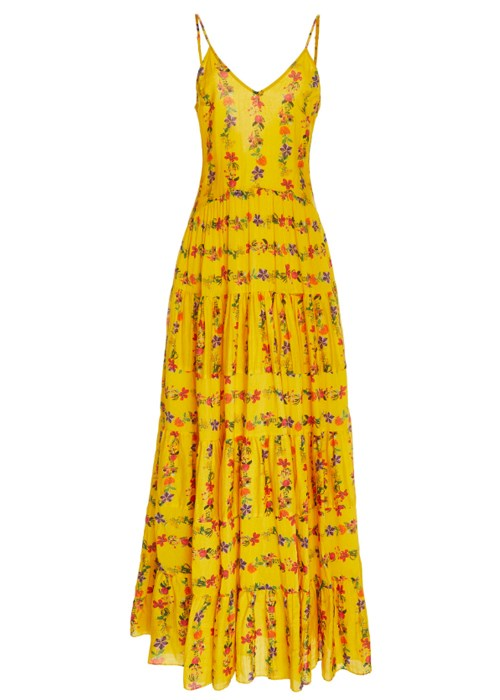 "Marieta dress, $515, Carolina K at [Moda Operandi](https://www.modaoperandi.com/carolina-k-r19/marieta-dress?color=yellow|target=""_blank"")"