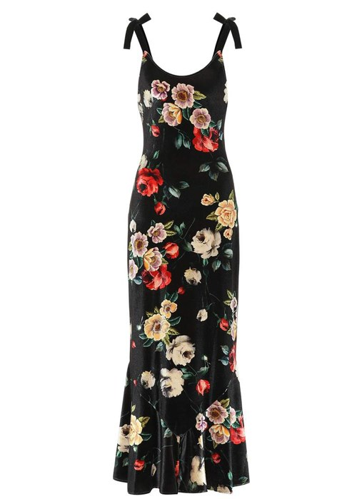 "Floral-printed velvet dress, $1,322, Attico at [MyTheresa](https://www.mytheresa.com/en-au/attico-floral-printed-velvet-dress-1049415.html?catref=category|target=""_blank"")"