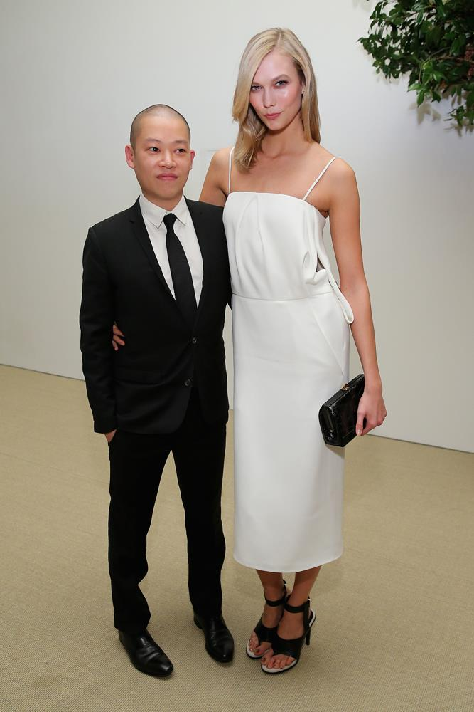 ***Jason Wu***<br><br> Karlie and designer Jason Wu reportedly became friends when she walked in his show more nearly a decade ago.