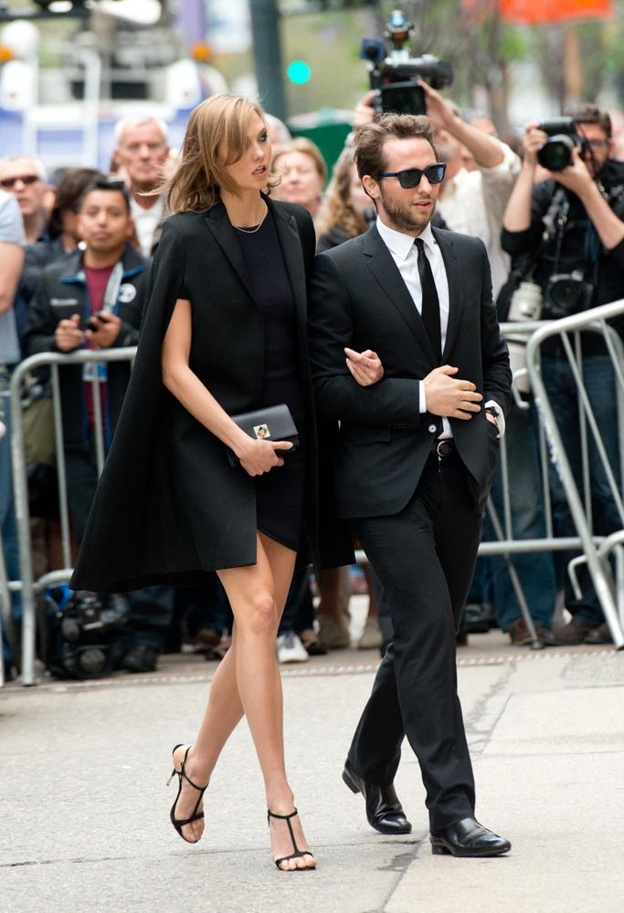 ***Derek Blasberg***<br><br> Being that they're from the same place—St Louis in Missouri—and work in the same industry, it's no surprise Karlie and Derek Blasberg have traveled in the same circles. Karlie and Derek often hang out on holiday and attend industry parties together.