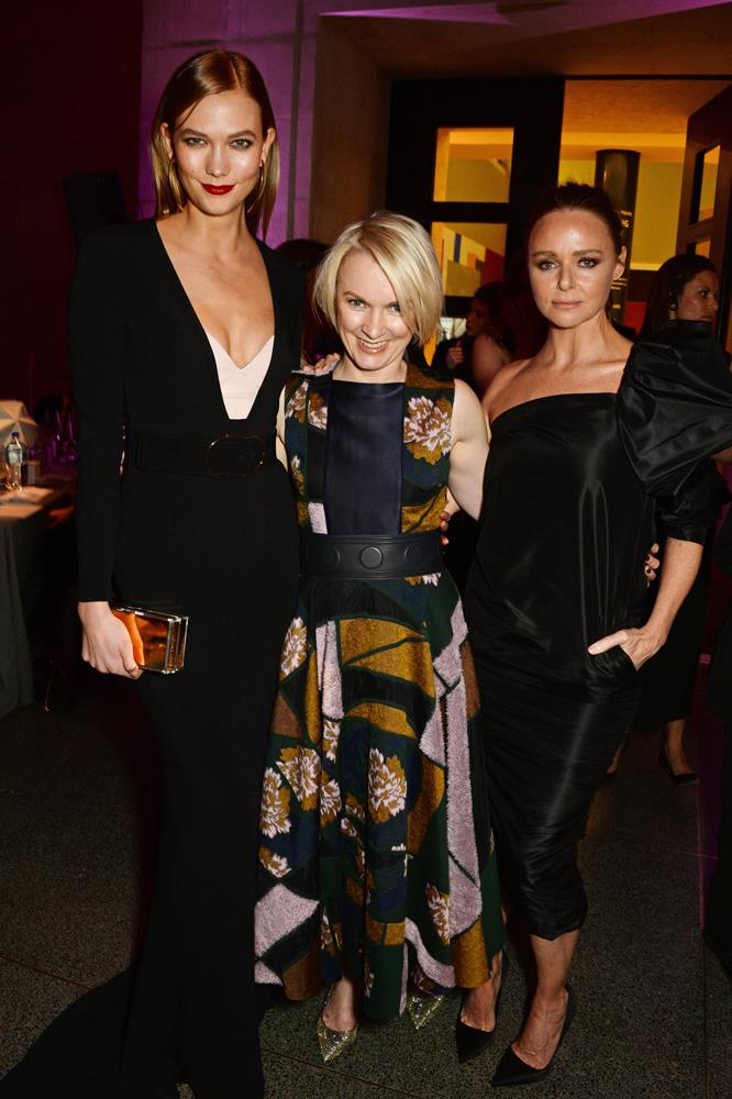 ***Stella McCartney***<br><br> On top of Stella picking Karlie to front her Adidas campaign, Karlie, Stella and Stella's Husband Alasdhair Willis also holiday together frequently. Stella's father, Paul McCartney, was on David Geffen's super-yacht with Karlie and Joshua in the days following their engagement.
