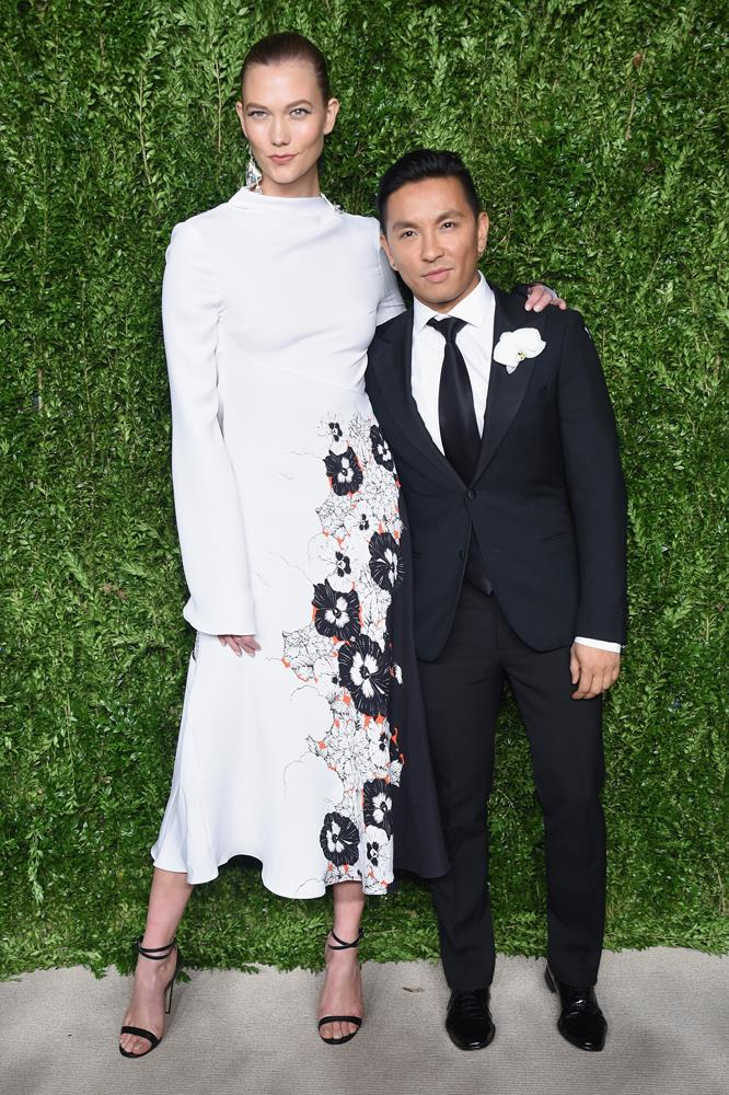 """***Prabal Gurung***<Br><br> In a [vlog](https://prabalgurung.com/blogs/the-journal/car-rides-with-karlie