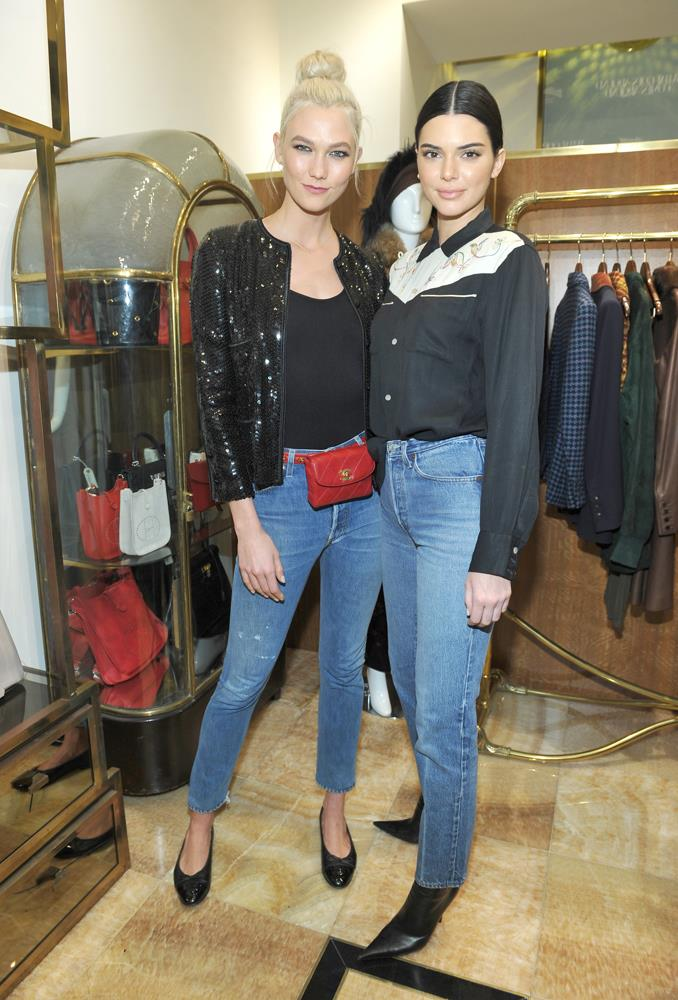 ***Kendall Jenner***<br><bR> Despite all the animosity (real or imagined) between Kendall and Taylor Swift, Karlie remains impartially friends with both. She is often seen attending basketball games and shows with Kendall.