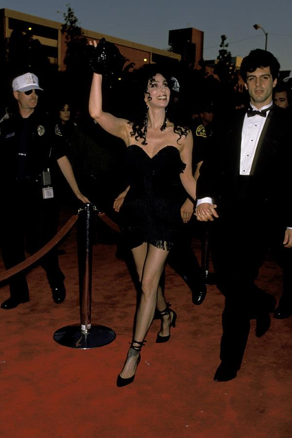 Cher at the 1989 Academy Awards.