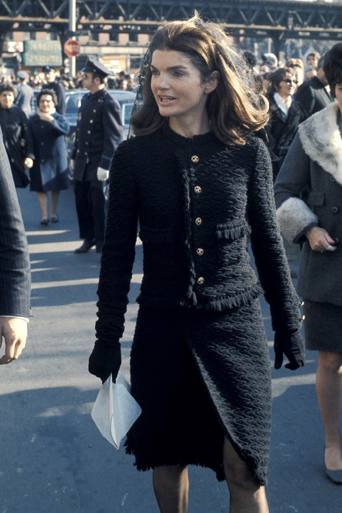 Attending Cardinal Cushing's funeral in New York City, 1970