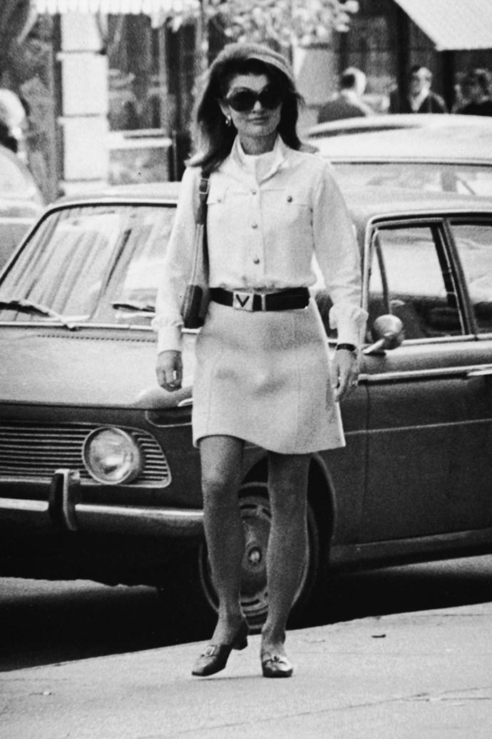 Running errands, 1970