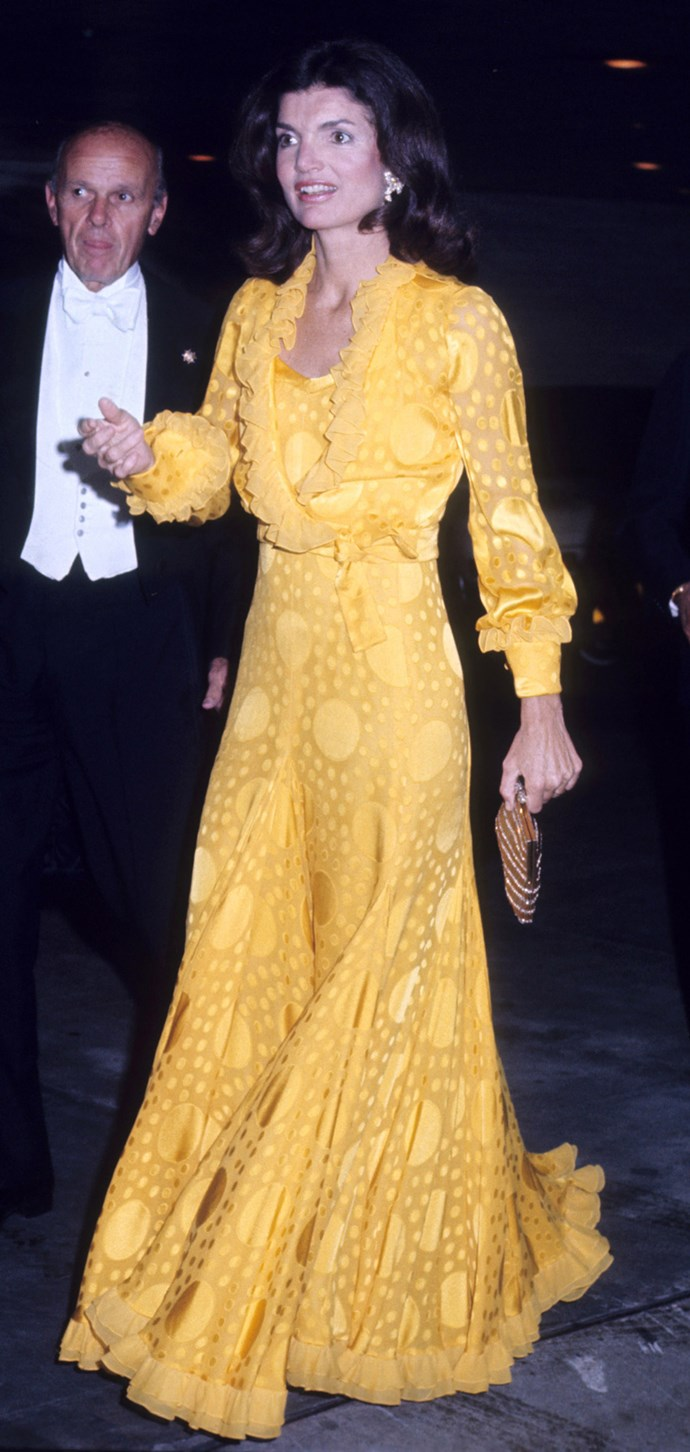 At the Metropolitan Opera House, New York City, 1973
