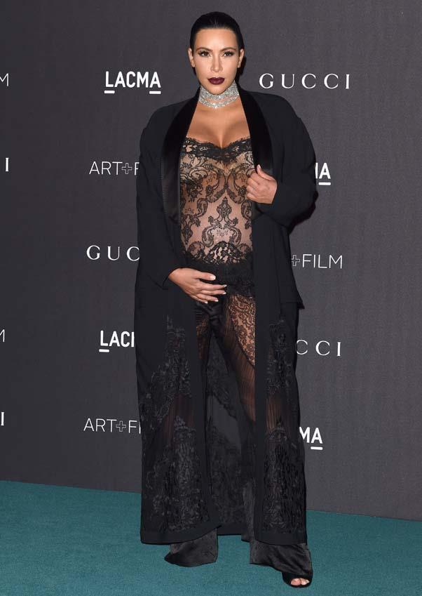 In Givenchy at the LACMA Art + Film Gala in Los Angeles, November 2015.