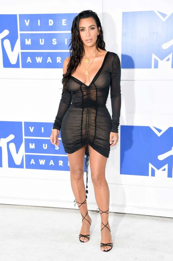 In vintage Galliano at the MTV VMAs, August 2016.